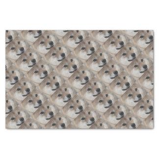 puppy tissue paper