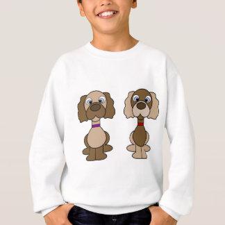Puppy twins sweatshirt