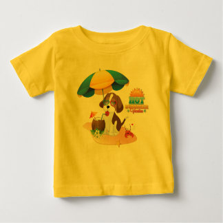 Puppy vacation baby T-Shirt