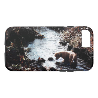 Puppy's Autumn Swim Phone Case