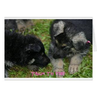 Pups Card