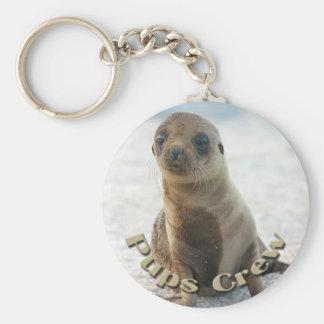 Pups Crew Key Chain