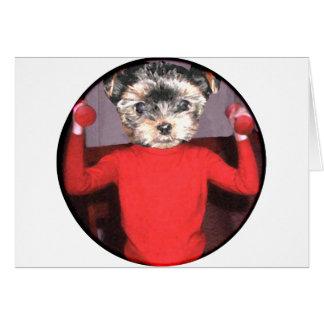 Pups workout card