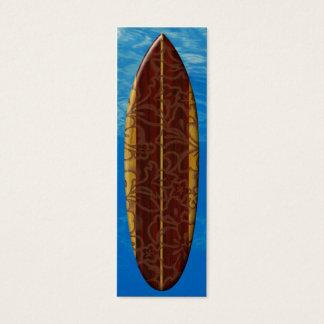 Pupukea Pareau Surfboard Bookmark Mini Business Card