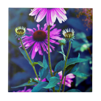 PUR-polarize Coneflowers Ceramic Tiles