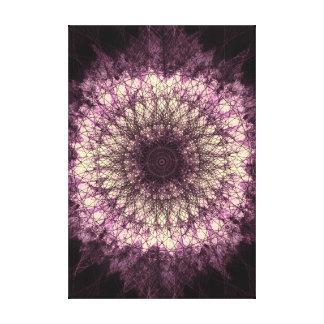 PUR-polarize Mandala Canvas Print