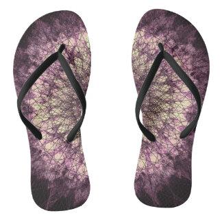PUR-polarize Mandala Flip Flops
