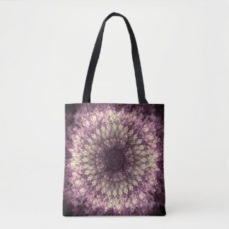 PUR-polarize Mandala Tote Bag