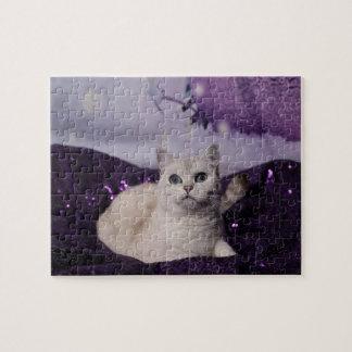 PUR-polarize XMAS Cats Jigsaw Puzzle