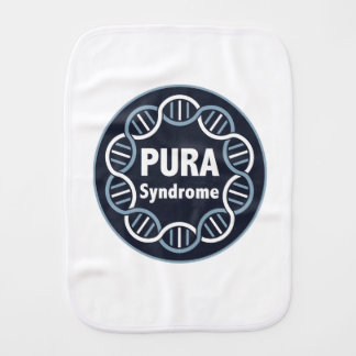 PURA Logo Burp Cloth