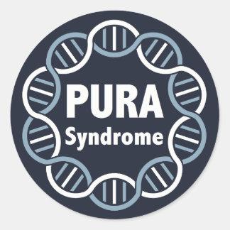 PURA Logo Stickers (6 per page)