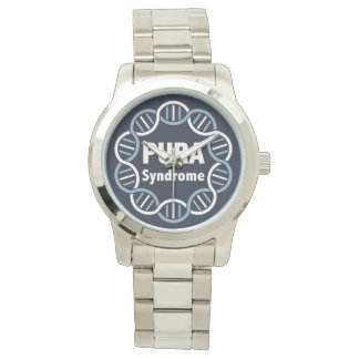 PURA logo watch stainless steel