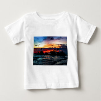 Pura Tanah Lot Temple, Bali, at sunset. Baby T-Shirt
