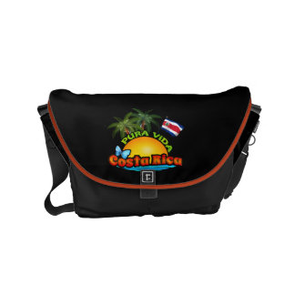 Pura Vida Costa Rica Courier Bag