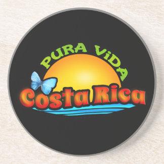 Pura Vida Costa Rica Drink Coasters
