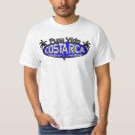 Pura Vida Costa Rica - Monkey Oval - Blue T-shirt