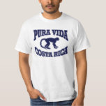 Pura Vida Costa Rica Monkey Tshirts