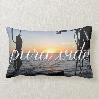 Pura Vida! Costa Rican Sunset Pillow
