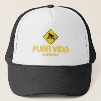 Pura Vida Monkey Crossing Costa Rica Hat