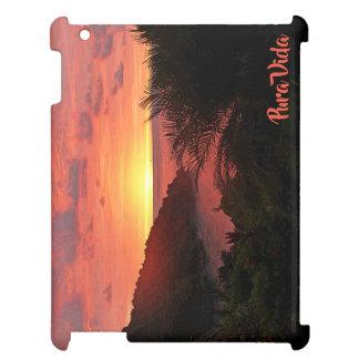 Pura Vida Sunset Sizzle II Poster iPad Case