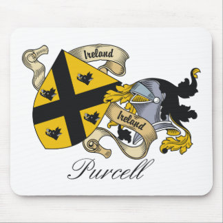 Purcell Family Crest Mouse Pad