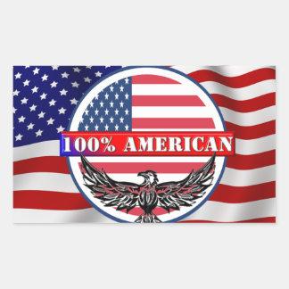 Pure American Sticker