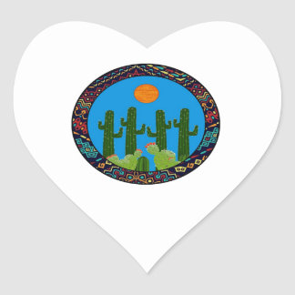 PURE AND AMAZING HEART STICKER