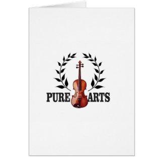 pure art fiddle card