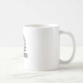 pure art fiddle coffee mug