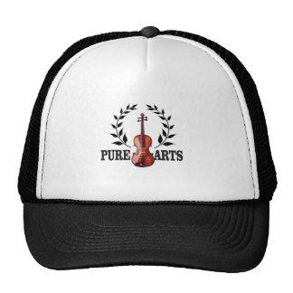 pure art violin trucker hat