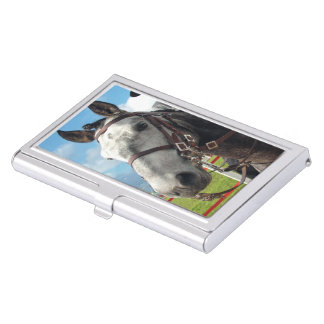 Pure breed horse business card holder