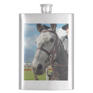 Pure breed horse hip flask
