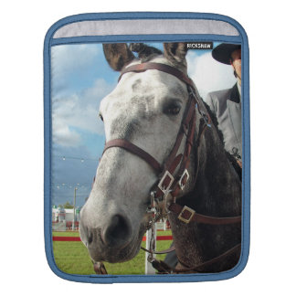 Pure breed horse iPad sleeve