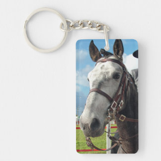 Pure breed horse keychain