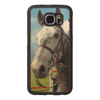 Pure breed horse wood phone case