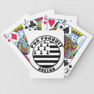 Pure Brittany produces Bicycle Playing Cards