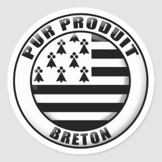 Pure Brittany produces Classic Round Sticker
