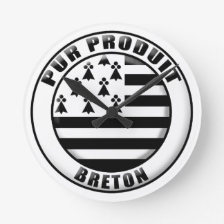 Pure Brittany produces Round Clock