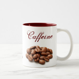 Pure Caffeine. Two-Tone Coffee Mug