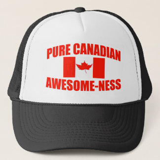 Pure Canadian Awesome-ness Trucker Hat