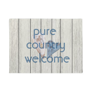 Pure Country Welcome Doormat