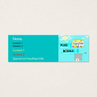 Pure Dogma Mini Business Card