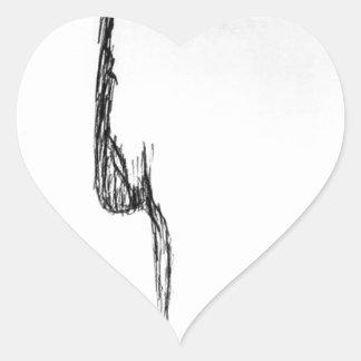 Pure Feeling Heart Sticker