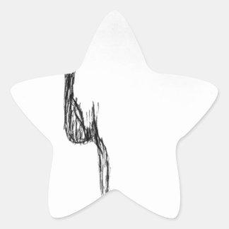 Pure Feeling Star Sticker