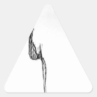 Pure Feeling Triangle Sticker