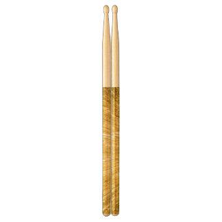 PURE GOLD pattern / golden shower Drum Sticks