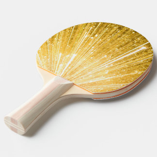 PURE GOLD pattern / golden shower Ping Pong Paddle
