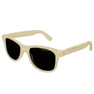 PURE GOLD Splatter Pattern + your ideas Sunglasses