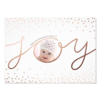 Pure Joy | Beautiful Holiday Photo Card