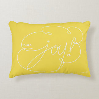 pure JOY - Bold CloudS - W Accent Pillow